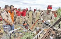 Bombeiros militares passam por treinamento de uso de novos encarceradores