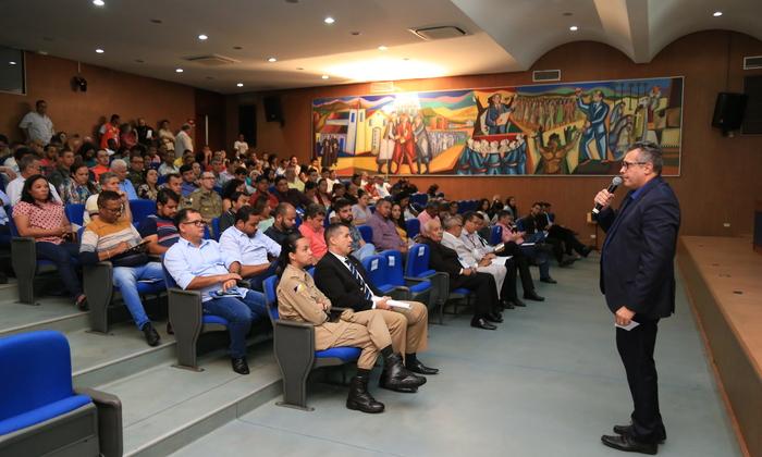 O gestor do Naturatins enfatizou ações do Comitê do Fogo com os parceiros, com destaque para o planejamento