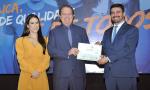 Mauro Carlesse, foi homenageado com o Certificado de Menção Honrosa; evento contou com a presença da primeira dama do Estado, Fernanda Mendonça Carlesse