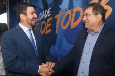 César Halum e Augusto Rezende comemoram a parceria