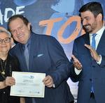 Outras 17 personalidades também foram homenageadas pela Unitins, entre elas a primeira reitora da instituição, professora Maria do Rosário Cassimiro