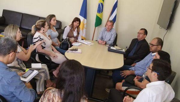 Reunião aconteceu na sede da Secad, em Palmas