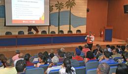 Evento organizado pelo TCETO teve participação da Defesa Civil Estadual e Comitê Estadual do Fogo