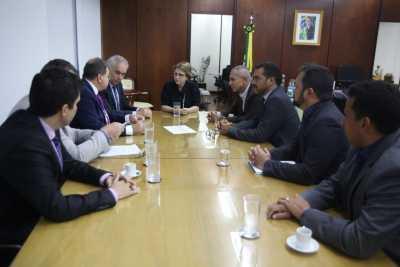 Audiência em Brasília quando a ministra Tereza Cristina confirmou presença na Agrotins 2020