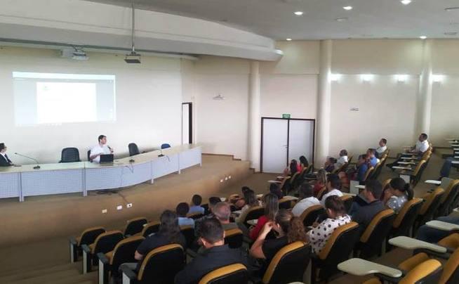 Treinamento do Sistema Integrado de Gestão Administrativa (Siga) no auditório da Egefaz