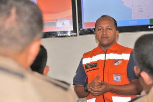 Major Matos, secretário-executivo da Defesa Civil Estadual