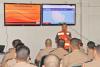 Major Matos ministra palestra a oficiais da Polícia Militar