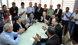 Governador Mauro Carlesse garante à classe empresarial a renovação dos 75% da alíquota do ICMS