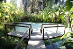 Fervedouro Macaúbas, no Jalapão, região turística mais conhecida do Tocantins fora do País