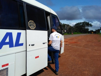 Fiscalização no município de Araguaína
