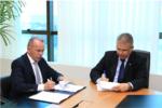 O Secretário da Administração assinou acordo com o TCE na tarde desta terça-feira,03