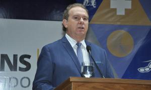 Governador Mauro Carlesse fala da importância do termo de cooperação técnica com o Ilanud