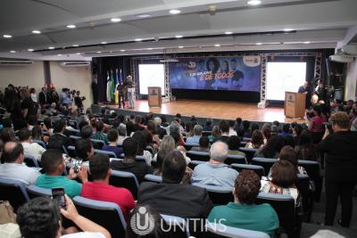 Auditório do Palácio Araguaia, durante  solenidade de homenagens pelos 30 anos da UNITINS.