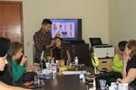 Workshop foi realizado na sala de reuniões  da Secad