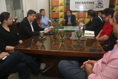 Reunião discutiu o desmatamento na fronteira agrícola e produção sustentável de soja no Matopiba