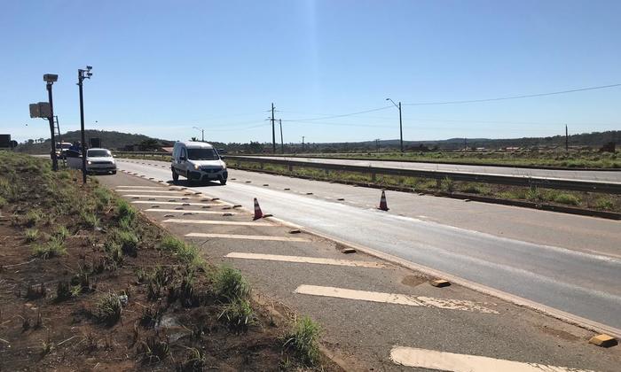 O objetivo da ação é atestar a leitura dos medidores de velocidade para veículos automotores em conformidade com a velocidade permitida nas rodovias