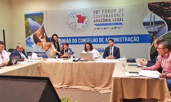 O secretário-chefe da Casa Civil, Rolf Vidal, destacou a participação do Estado no Consórcio