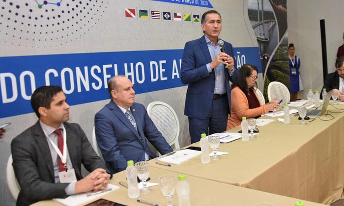 O secretário-chefe da Casa Civil, Rolf Vidal, representou o Tocantins noConselho de Administração