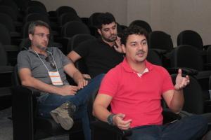Oscar Barroso, representantes do Naturatins no grupo de trabalho