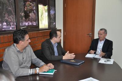 Reunião com o presidente da ATS, Davi Goveia Júnior