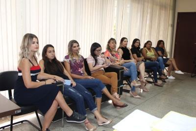 A palestrante e psicóloga, Rosivânia Tosta, abordou em suas palestras os diferentes papéis que a mulher exerce na sociedade.