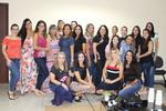"""Funcionárias e Servidoras no encerramento da Palestra : """"Mulheres emocionalmente saudáveis"""""""