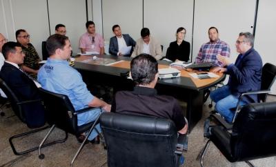 Representantes dos órgãos que compõem o grupo de Fiscalização Integrada se reuniram para apresentar resultados da Piracema 2019/2020