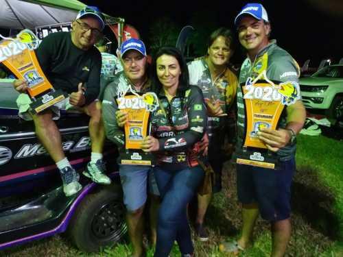 Equipe do Tocantins TPA Competition Megabass, Marine e Faca na Rede que conquistou o vice-campeonato
