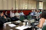 Membros do Conselho Estadual do Meio Ambiente em reunião ordinária