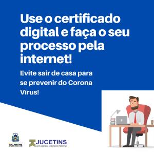 Jucetins oferece canais online para que o cidadão possa resolver sua demanda