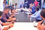 Membros do Foestur elaboram documento para ser entregue ao governador Mauro Carlesse