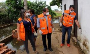 Defesa Civil Estadual auxilia nas ações  em apoio à região alagada do Bico do Papagaio