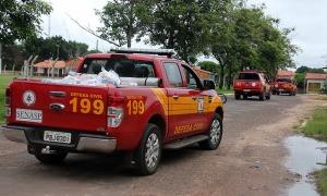 Alimentos enviados pelo governo do do Tocantins atendeu famílias afetadas pelo alagamento