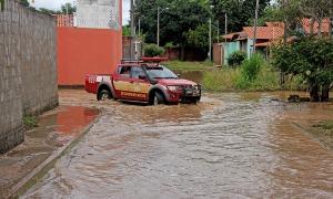 Defesa Civil Estadual percorreu região para conhecer a situação das áreas alagadas