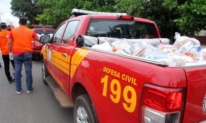 Cestas básicas atenderam famílias em região alada no Bico do Papagaio