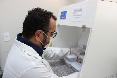 02. Laboratório de Vacinas de Biomoleculas e Vacinas - UFT - Gurupi - Daniel dos Santos - Sucom - UFT.JPG