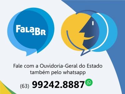 Manifestação via WhatsApp está disponível todos os dias da semana