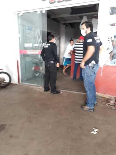 Policiais Civis da 7ª DRPC fiscalizam cumprimento do decreto do Governo do Estado em Gurupi