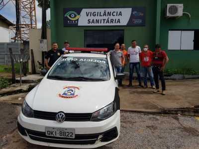 Ação das forças de segurança contam com apoio da Vigilância Sanitária em Gurupi