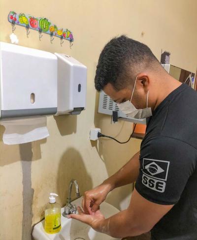 Higienização das mãos foram redobradas nas unidades socioeducativas