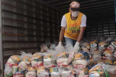 As entregas dos kits iniciaram nesta quinta-feira pelos municípios do Sul do Estado