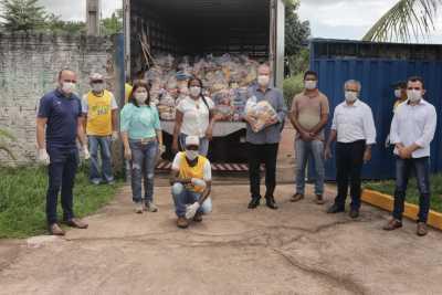 Ao todo serão entregues 100 mil kits de alimentos nos 139 municípios tocantinenses