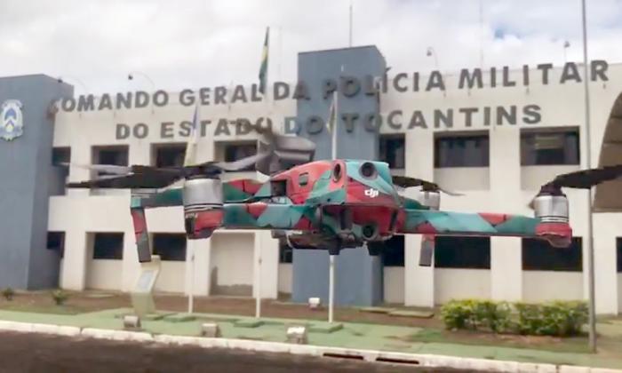 Drone será utilizado no combate à pandemia causada pelo novo Coronavírus em Palmas