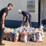 Município de Conceição do Tocantins foi um dos beneficiados com as cestas básicas neste sábado