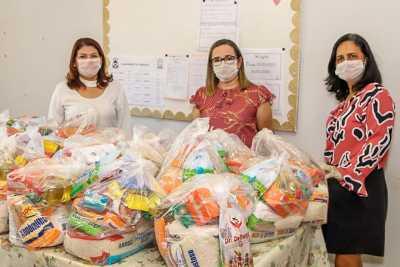 Todos os 157 mil estudantes da rede estadual de ensino irão receber um kit alimentação e outro de higienização