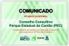 COMUNICADO - Suspensa 33ª Reunião do Conselho Consultivo do PEC