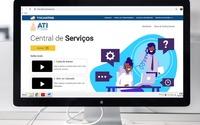 Na plataforma contém vídeos explicativos sobre como ter acesso a conta do servidor, abrir o chamado e o acompanhamento.