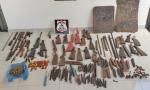 Armas de fogo e peças para fabricação de armas apreendidas pela Polícia Civil em Tocantinópolis