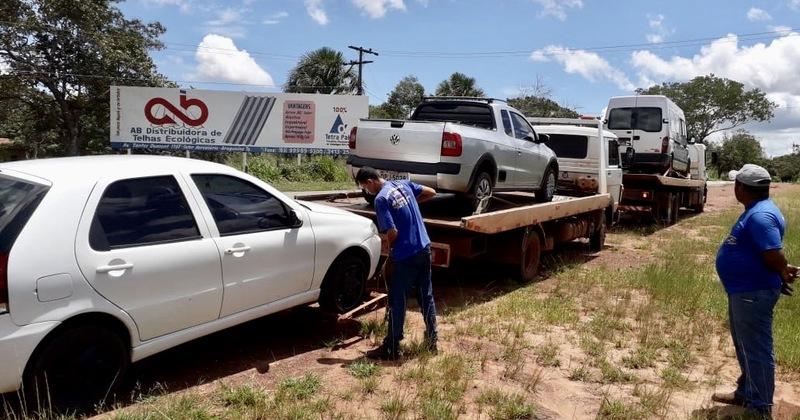Apreensão de veículos clandestinos no município de Araguaína