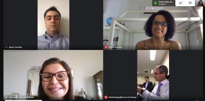 Reunião virtual do Conselho de Procuradores do Estado